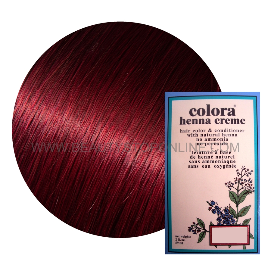Colora Henna Creme Burgundy 2 Oz Beauty Stop Online