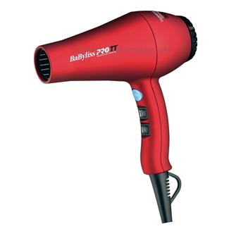 BaByliss PRO TT Tourmaline Titanium 3000 Red Hair Dryer