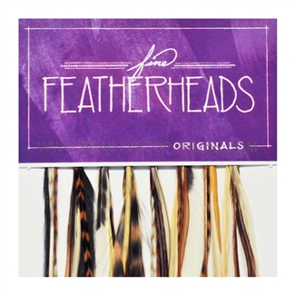 Fine FeatherHeads Original Extensions Natural