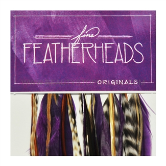 Fine FeatherHeads Original Extensions Purple