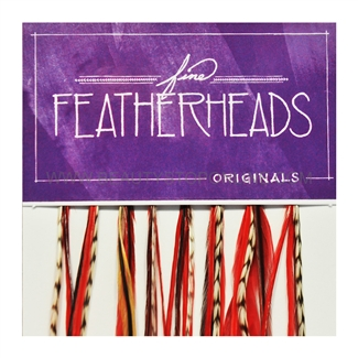 Fine FeatherHeads Original Extensions Red