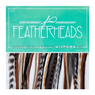 Fine FeatherHeads Wispers Natural - Longs