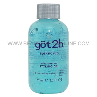 got2b Spiked-Up Max-Control Styling Gel 2.5 oz