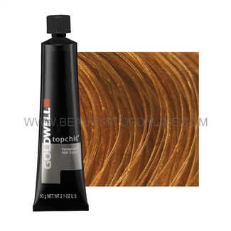 Goldwell TopChic 9KG Extra Light Copper Gold Tube Hair Color