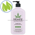 Hempz Vanilla Plum Herbal Body Moisturizer 17 oz