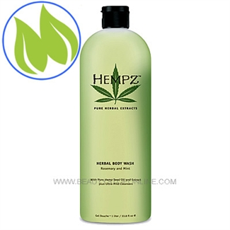 Hempz Rosemary & Mint Herbal Body Wash 33.8 oz