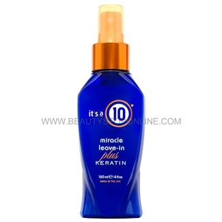It's a 10 Miracle Leave-In plus Keratin 4 oz