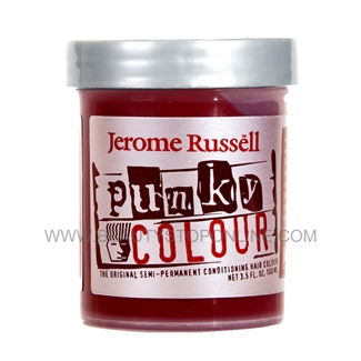 Jerome Russell Punky Hair Colour Cream - Wine Red 1442