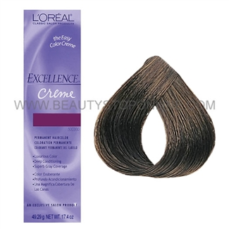 L'Oreal Excellence Creme - Dark Brown #4