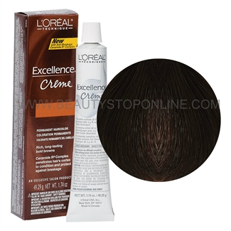 L'Oreal Excellence Browns Extreme Creme - Dark Red Brown #BR1