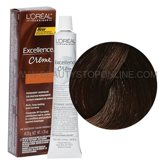 L'Oreal Excellence Browns Extreme Creme - Dark Burgundy Brown #BR2