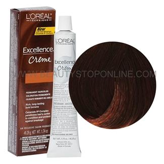 L'Oreal Excellence Browns Extreme Creme - Medium Red Brown #BR4