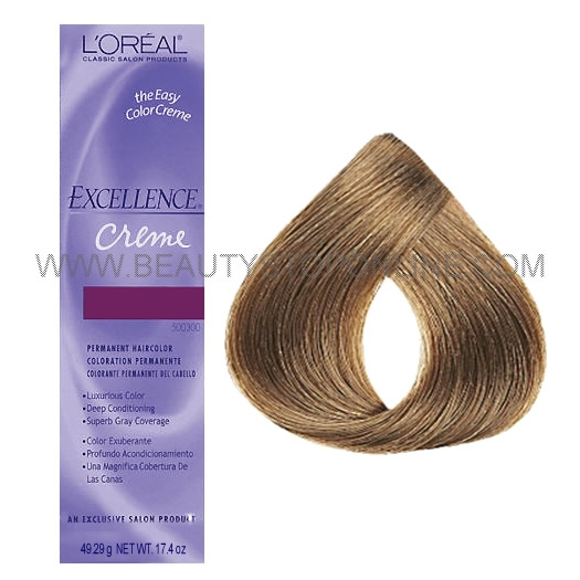 L Oreal Excellence Cr 232 Me Dark Ash Blonde 7 1 Beauty