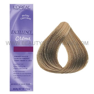 L'Oreal Excellence Creme - Medium Ash Blonde #8.1
