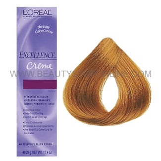 L'Oreal Excellence Creme - Medium Coppery Blonde #8.4