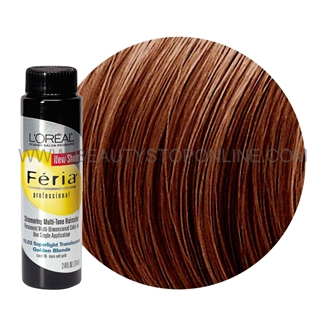 L'Oreal Feria Rich Mahogany Copper Brown 5.54