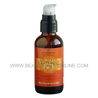 Earthly Body Marrakesh Oil Hair Stylin Elixir - 8 oz
