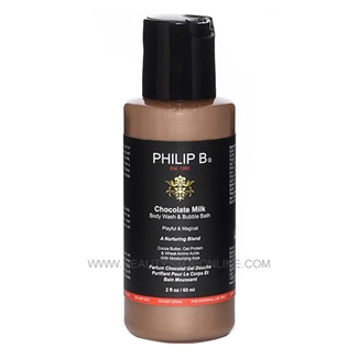 Philip B. Chocolate Milk Body Wash & Bubble Bath - 2 oz