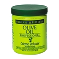 Organic Root Salon Olive Oil Professional Creme Relaxer Normal 18.75 oz