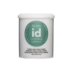 Rusk id Luminating Lightener Gentle, Dust-Free, Non-Ammonia Hair Bleach - 16 oz