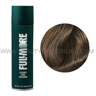 Fullmore Colored Hair Thickener Spray Medium Brown