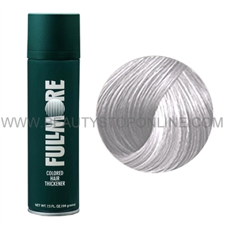 Fullmore Colored Hair Thickener Spray White