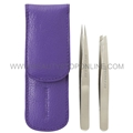 Tweezerman Petite Tweeze Set with Lavender Case 4048-P