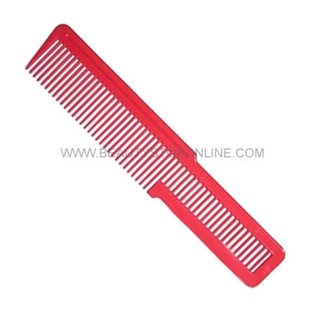 Wahl Flat Top Hair Cutting Comb - Red