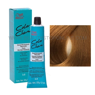 Wella Color Charm Demi-Permanent Hair Color - 7G (7/3) Medium Golden Blonde