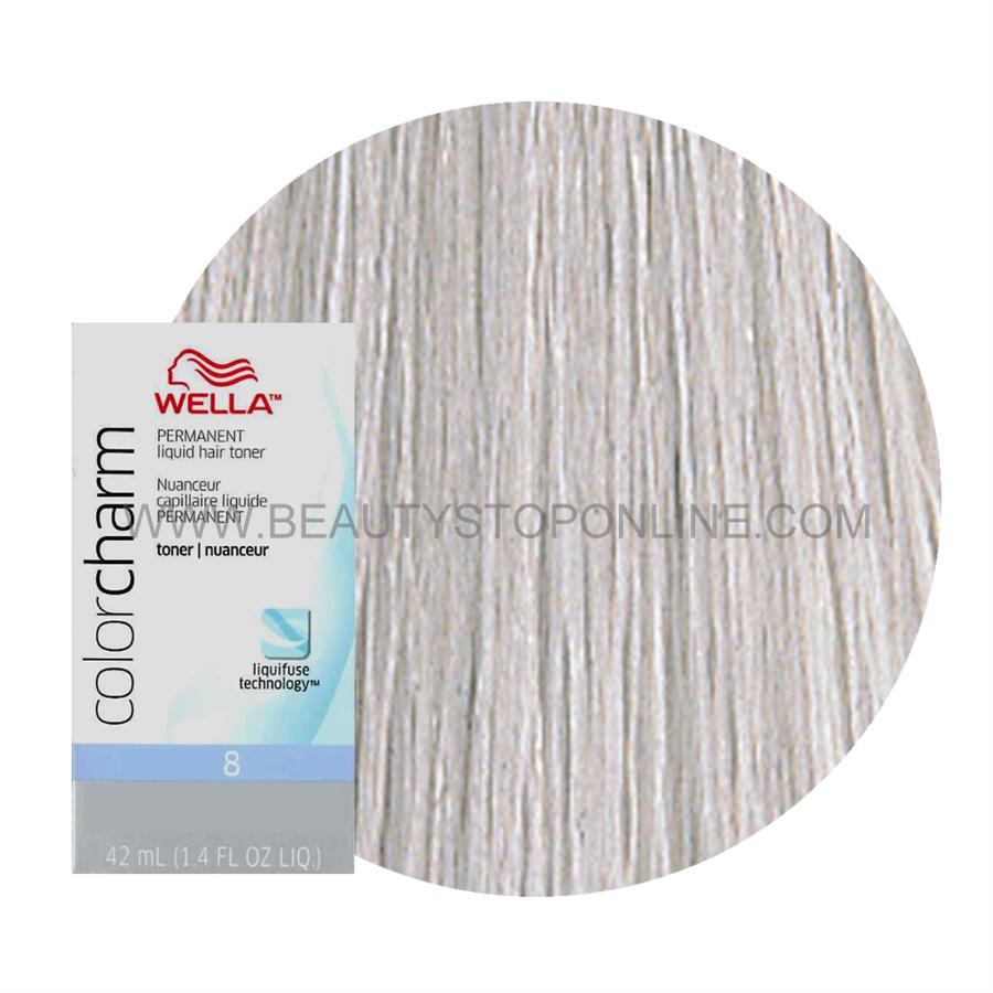 Wella Color Charm Liquid Toner T 14 Pale Ash Blonde Beauty Stop Online