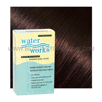 Water Works Permanent Powder Hair Color #34 Mahogany