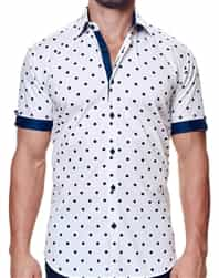Navy Dot Designer Shirt