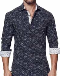 Modern Designer Button Down