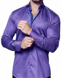 Fashionable Purple Shirt