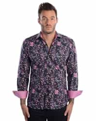 Desinger Floral Dress shirt