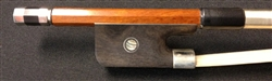 Bass Bow - Arcos Brasil - Pernambuco Bow - Nickel fitted