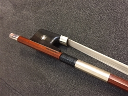 Bass Bow - Arcos Brasil - Pernambuco Bow - Silver Fitted