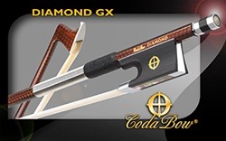 Viola Bow CodaBow GX 'Diamond series' - Carbon Fiber