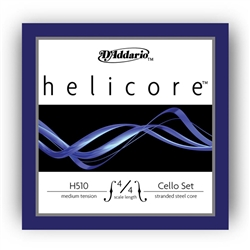 Cello Strings Fractional Helicore