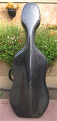 Cello Case Otto Musica Single Latch Carbon Fiber