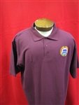 AMVET Wine Golf Shirt Small