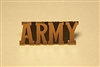 ARMY Name Pin