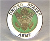 ARMY Round Lapel Pin