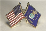 USAF/US Flag Pin