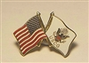 USCG/US Flag Pin
