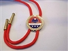 AMVETS Bolo Tie - Red