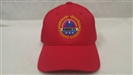 Ball Cap - AMVETS - Red