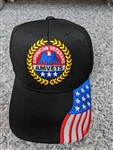AMVETS Patriotic Ball Cap