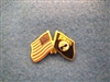 POW/MIA Crossed Flag Pin