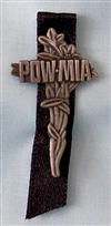 POW/MIA Cross w/Ribbon